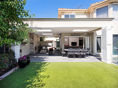 outdoor living extension